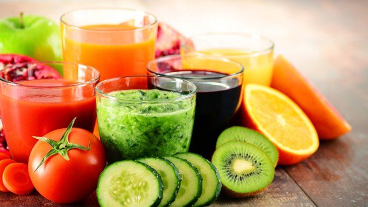 Alimentos que fazem parte da Dieta Detox