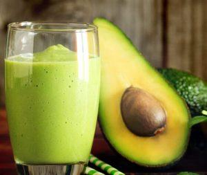 Suco detox de abacate inibidor de apetite