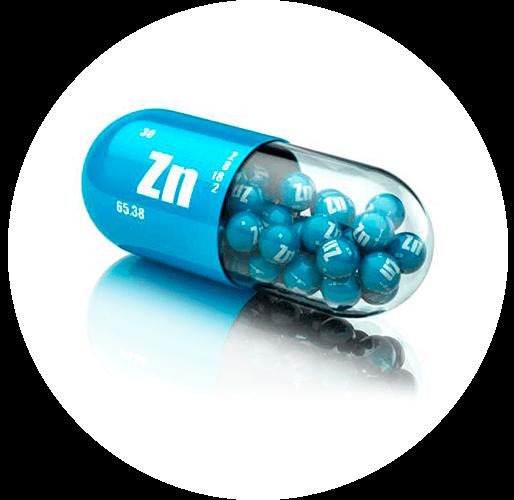 Benefícios do zinco